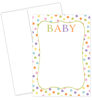Baby Dots Invitation