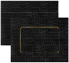 Black Alligator Certificate Envelope