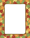 Artistic Leaves Letterhead 80