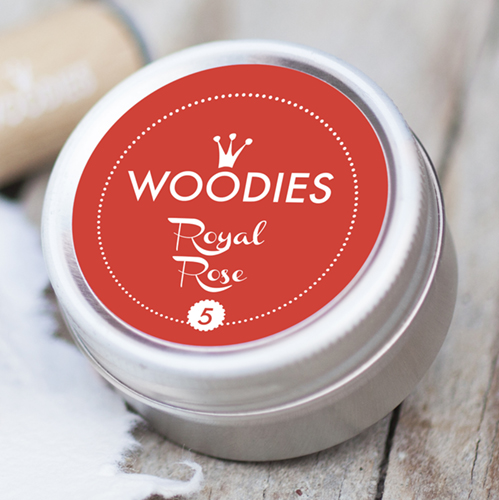 Woodies Ink Pad Royal Rose