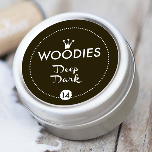 Woodies Ink Pad Deep Dark Black