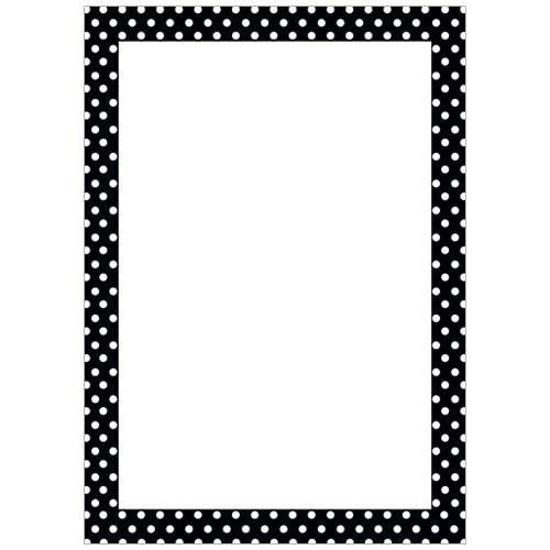 great papers 152990 polka dot border