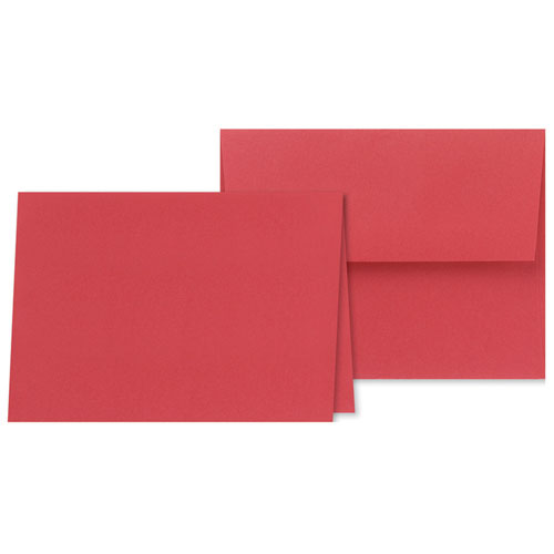 Red Note Cards   Envelopes 5/5
