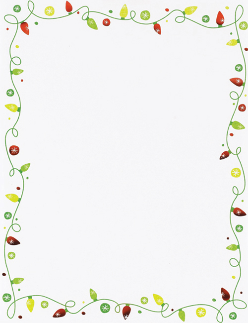 String Of Lights Letterhead