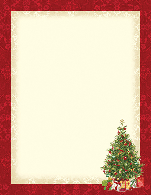 Lacy Tree Letterhead 80CT