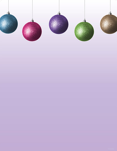 Glitzy Bulbs Letterhead 80CT