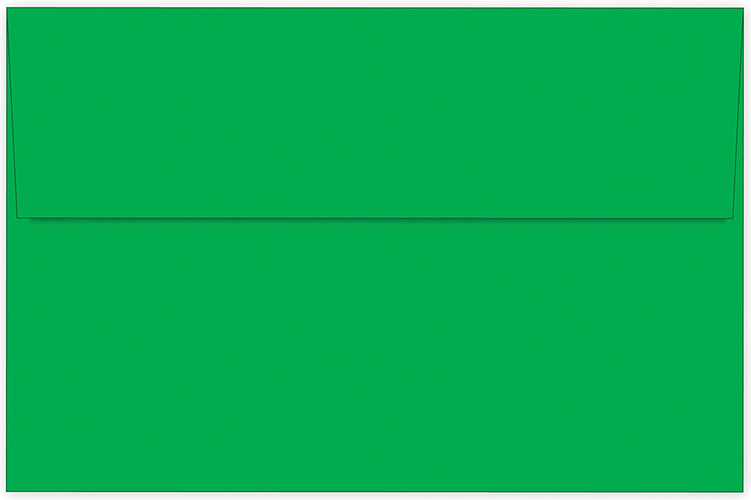Bright Green A9 Envelope