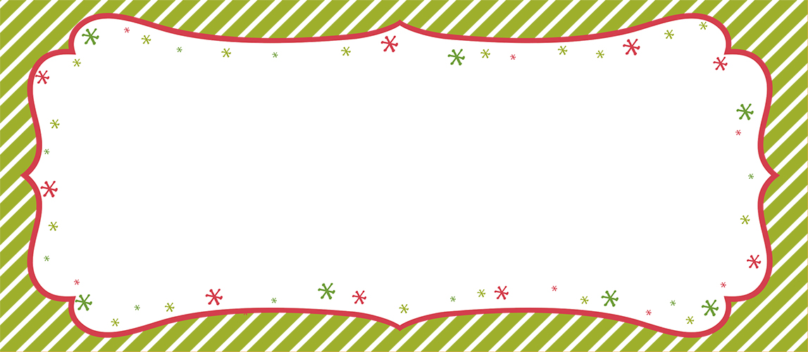 Peppermint Twist #10 Envelope