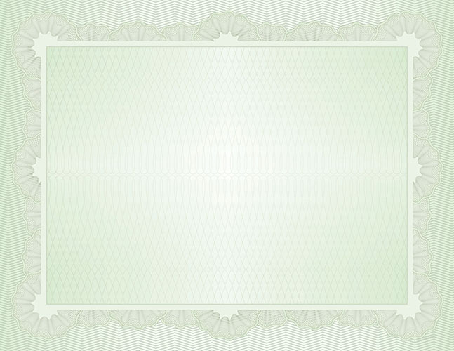 Grand Green Value Certificate