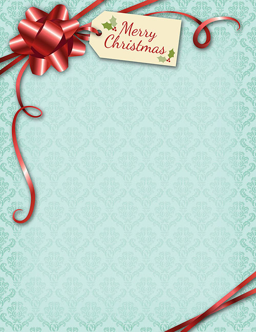 Gift Package Letterhead