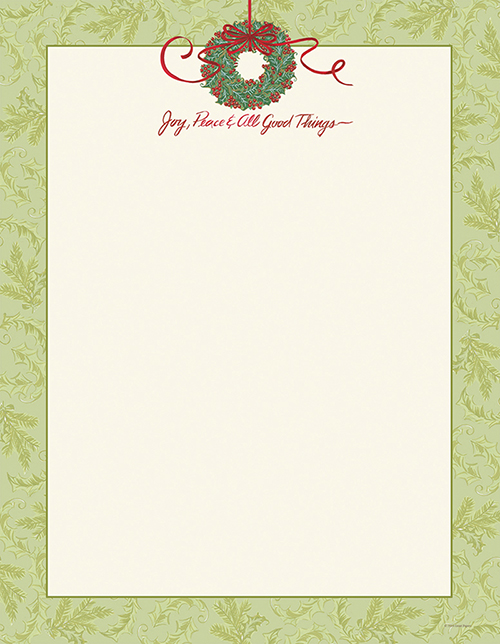 All Good Things Letterhead