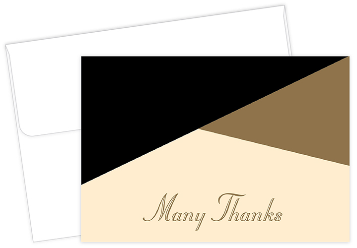 Missing Pieces Thank You Note card 50