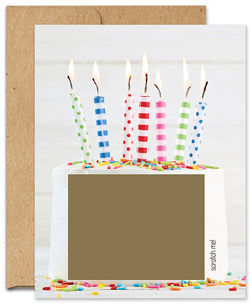 Candles Scratch-Off Cards 3CT