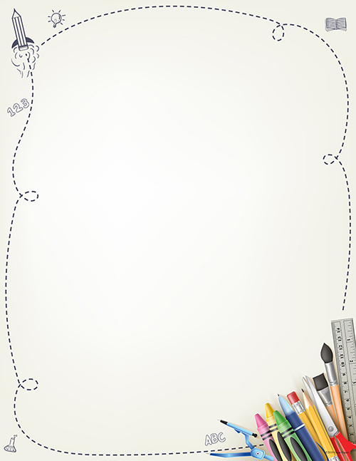 School Supplies Letterhead 80CT
