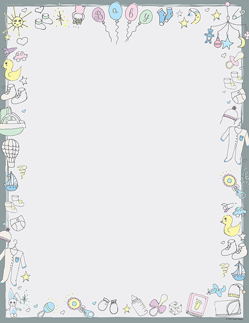 Baby Time Letterhead 80CT