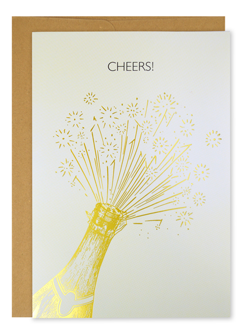 Cheers Encouragement Card 3CT
