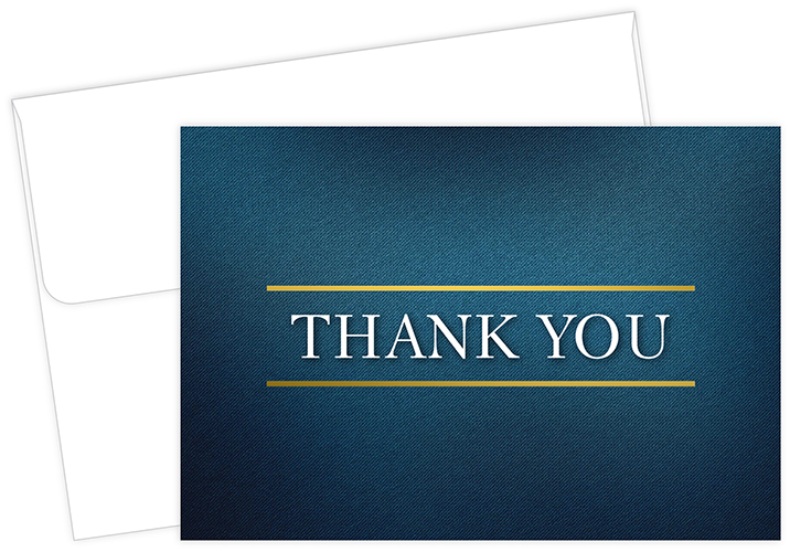 Medieval Thank You Notecard 50 CT