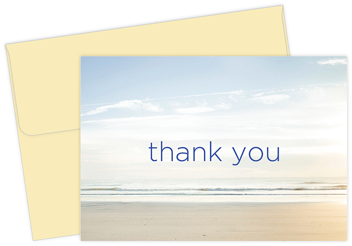 Serene Thank You Notecard 50CT