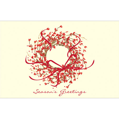 57082 - Season's Greetings Wreath