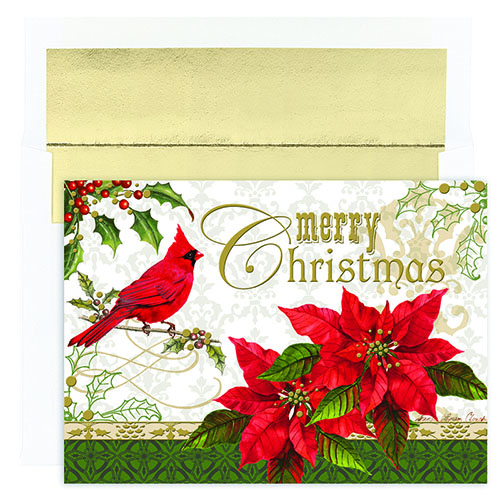 Merry Christmas Cardinal Greeting Card 16