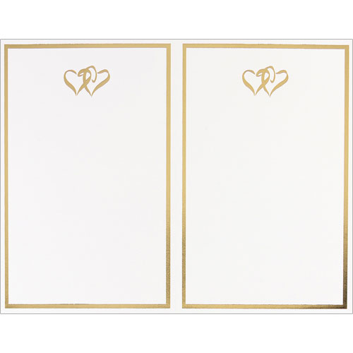 918740 - Gold Double Hearts