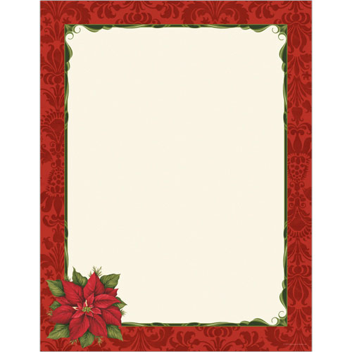 9720158 - Poinsettia Damask