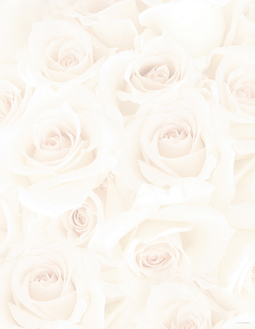 Blush Roses Letterhead 80CT