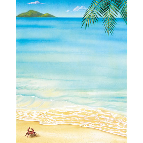 Tropical Letterhead 80CT