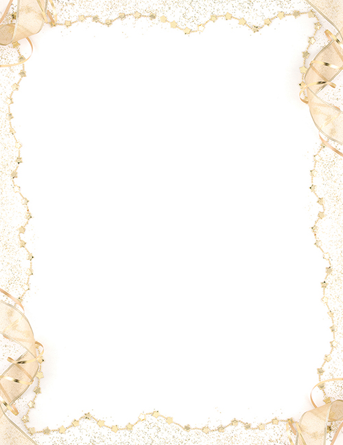 Gold Party Letterhead 80CT