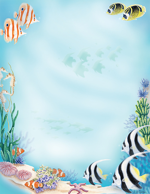 Sea Life Letterhead 80CT