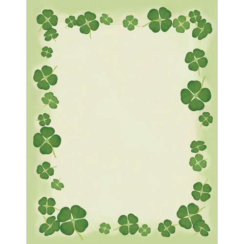 Four Leaf Clovers Letterhead