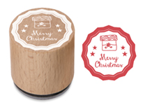 Woodies Stamp Merry Christmas