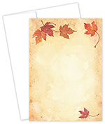 Fall Leaves Invite