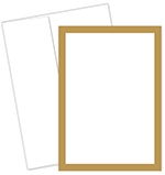 152679 - Metallic Gold Border