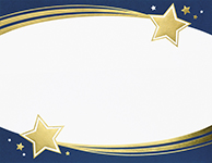 Shooting Stars Foil Certificate