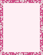 Cherry Blossoms Letterhead 80CT