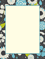 Outline Foliage Letterhead 20CT