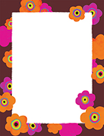 Bright Poppies Letterhead