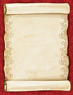 Christmas Scroll Letterhead 80CT