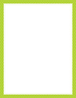 Lime Scalloped Dots Letterhead