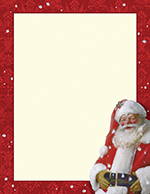 Jolly St Nick Letterhead 80CT