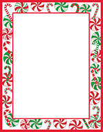 Peppermint Party Letterhead