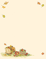 Harvest Apples Letterhead 80CT