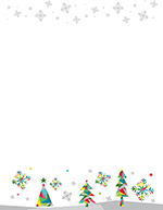 Prismatic Holiday Letterhead 80