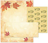 Fall Leaves Stationery Kit 25
