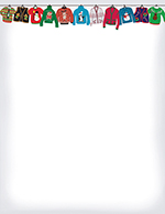 Holiday Sweater Letterhead 80CT