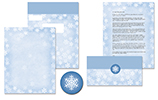 Winter Flakes Self Mailer 50CT