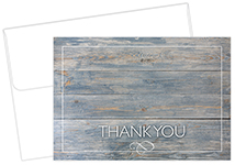 Drift Wood Thank You Card 50Ct