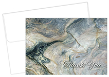 Marble Thank You Card 50Ct