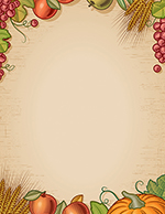 Fall Harvest Letterhead 80CT